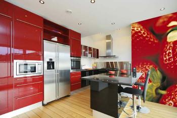 Tapete kao jednostavno rešenje za zidove u kuhinji