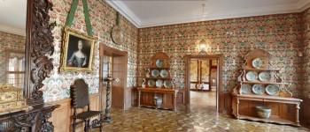 Dekoracija enterijera tapetima u Ruskom stilu